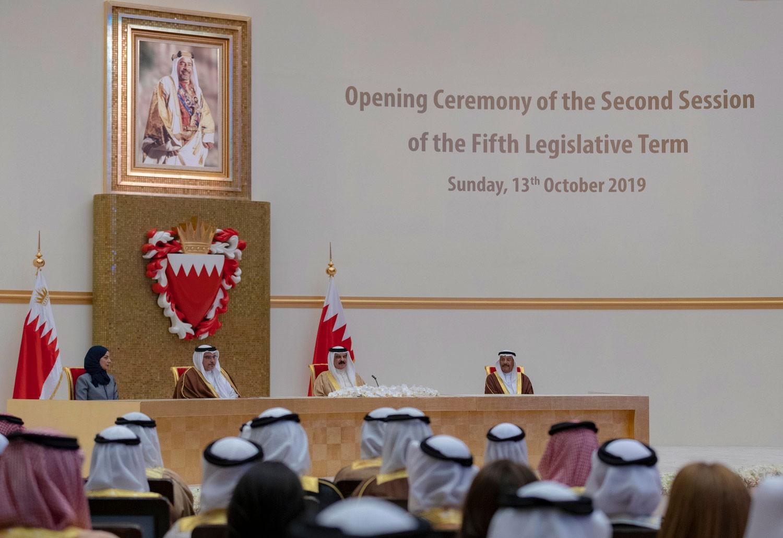 جلالة الملك يشمل برعايته افتتاح دور الانعقاد لمجلسي الشورى والنواب