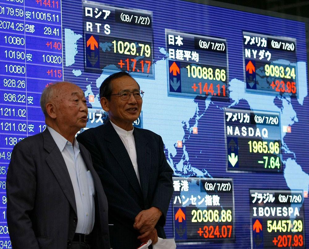 ارتفاع المؤشر نيكاي في بداية تعامل بورصة طوكيو