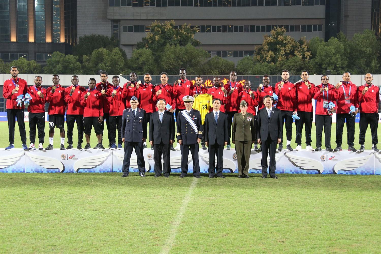 منتخبنا العسكري لكرة القدم بطلا للعالم
