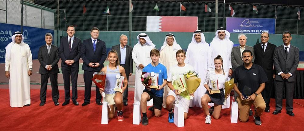 فخرو: تخصص نادي البحرين للتنس في بطولات الناشئين يميزه