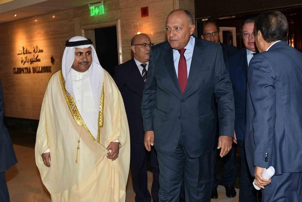 العسومي: دعم الجهود المصرية في موضوع سد النهضة