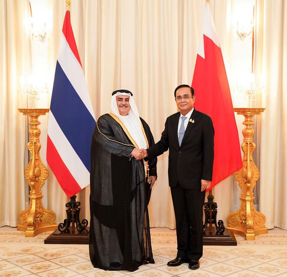رئيس وزراء تايلند يستقبل وزير الخارجية