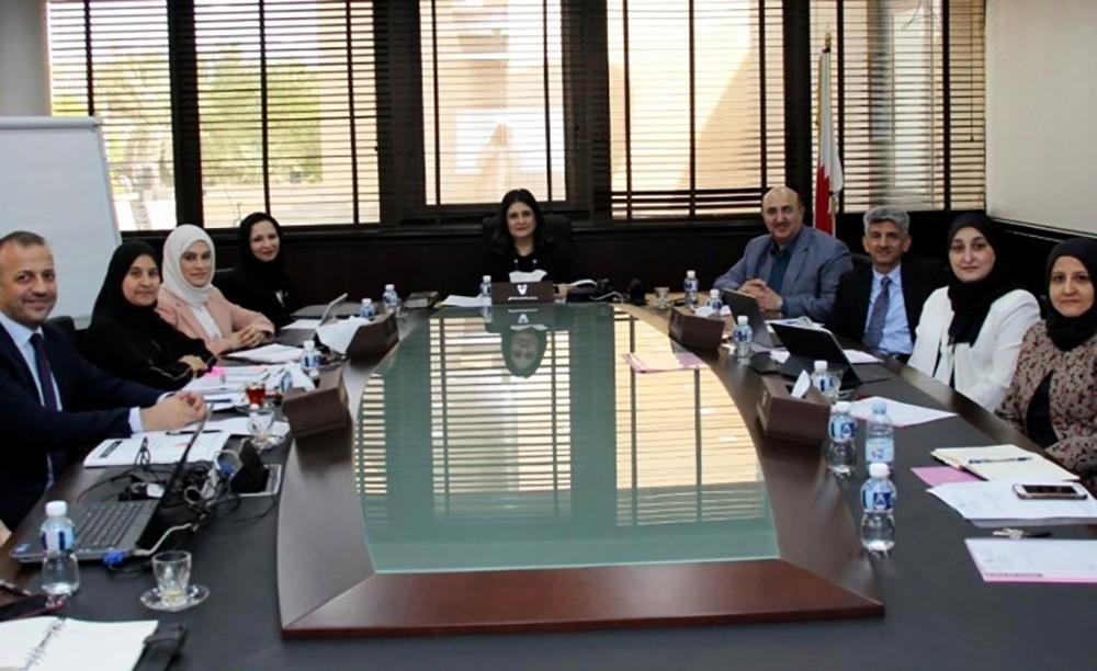 لجنة الاعتماد الأكاديمي تناقش تقارير الاعتماد المؤسسي لعدد من الجامعات