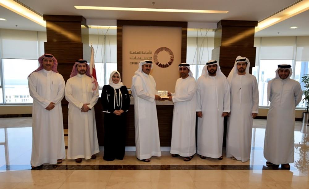 الأمين العام للتظلمات يستقبل وفدًا من لجنة التظلمات المركزية العسكرية بوزارة الداخلية الإماراتية