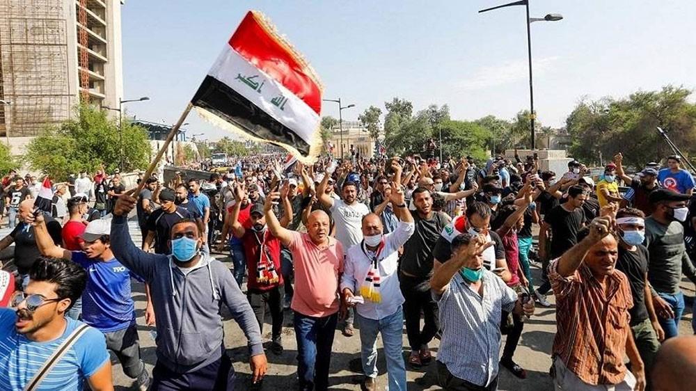 بغداد.. رصاص وقتلى في فيديو المواجهات بين الأمن والمتظاهرين
