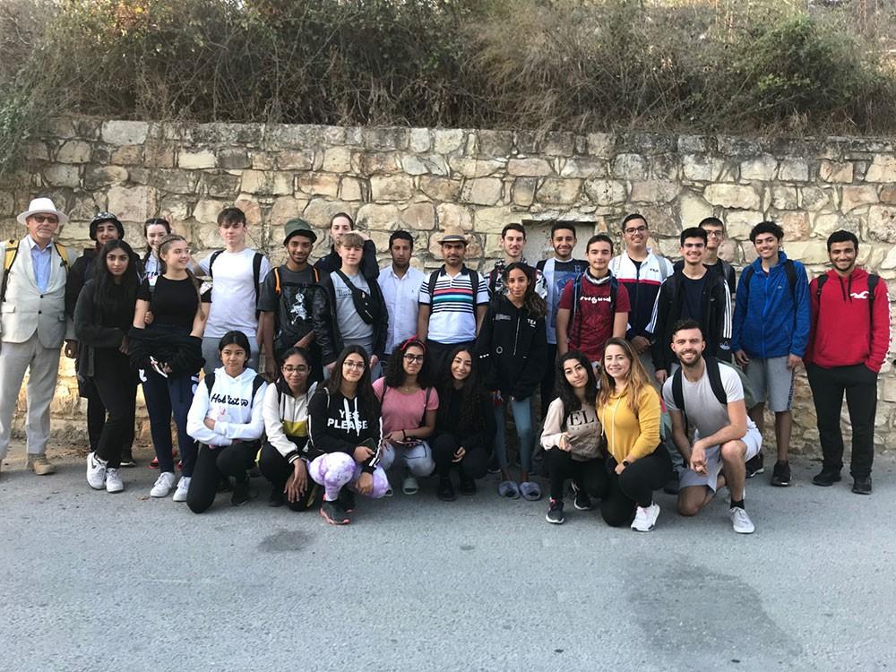 المدرسة البريطانية تنظم رحلة بيئية لـ 25 من طلابها إلى قبرص