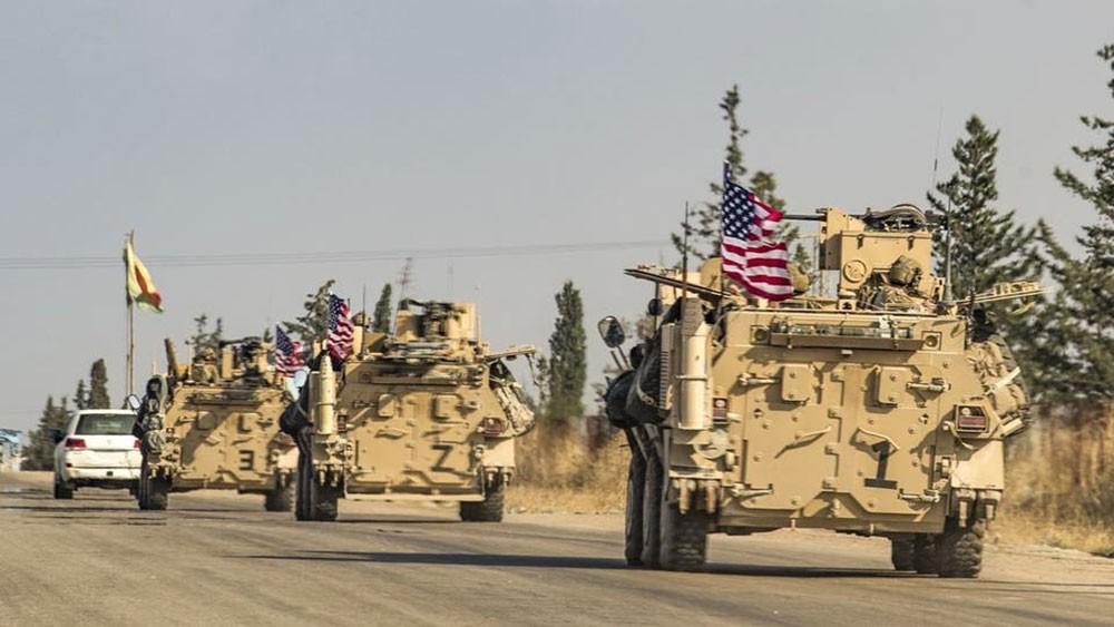 قوات أميركية تسير دورية بمثلث حدود سوريا العراق تركيا