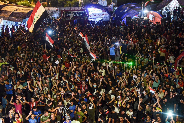 الأمم المتحدة: الأمن العراقي يطلق النار على المتظاهرين
