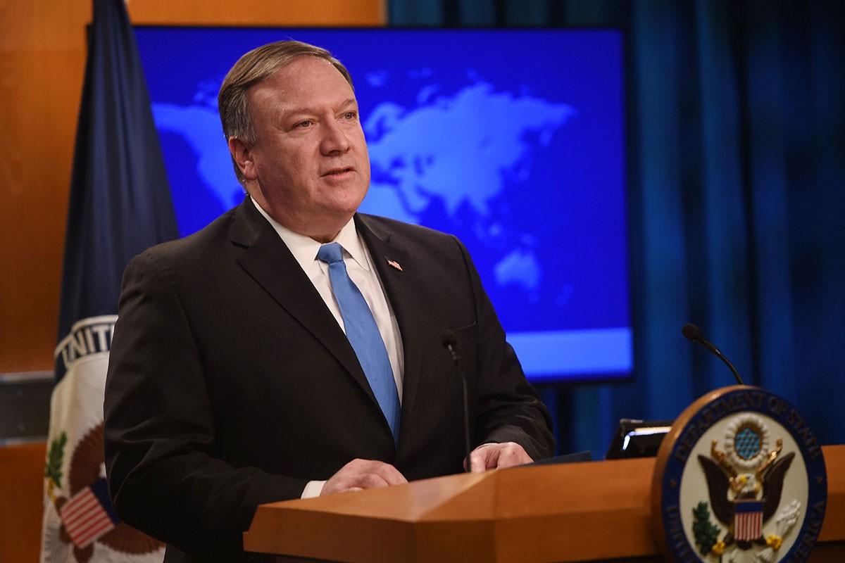 """بومبيو: يجب التعامل مع """"ابتزاز"""" إيران النووي"""