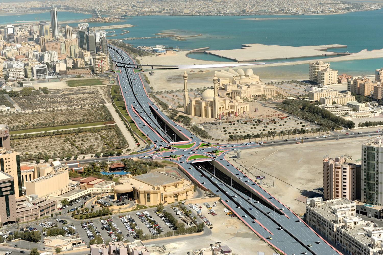 تطوير شارع الفاتح خلال الربع الأول من 2020