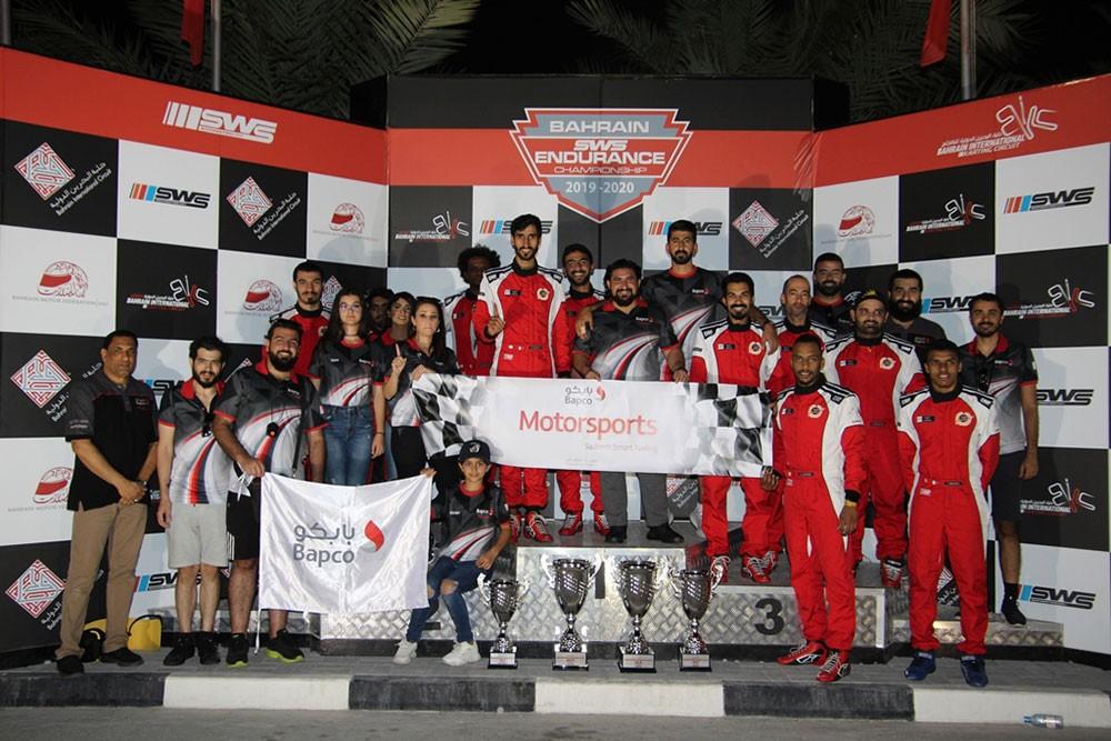فريق بابكو لرياضة السيارات يتألق في سباقات التحمل للكارتنغ