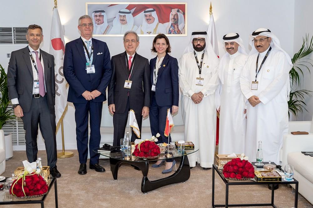 وفد من الهيئة الوطنية للنفط والغاز يجتمع مع عدد من الشركات النفطية الاقليمية والعالمية في ابو ظبي