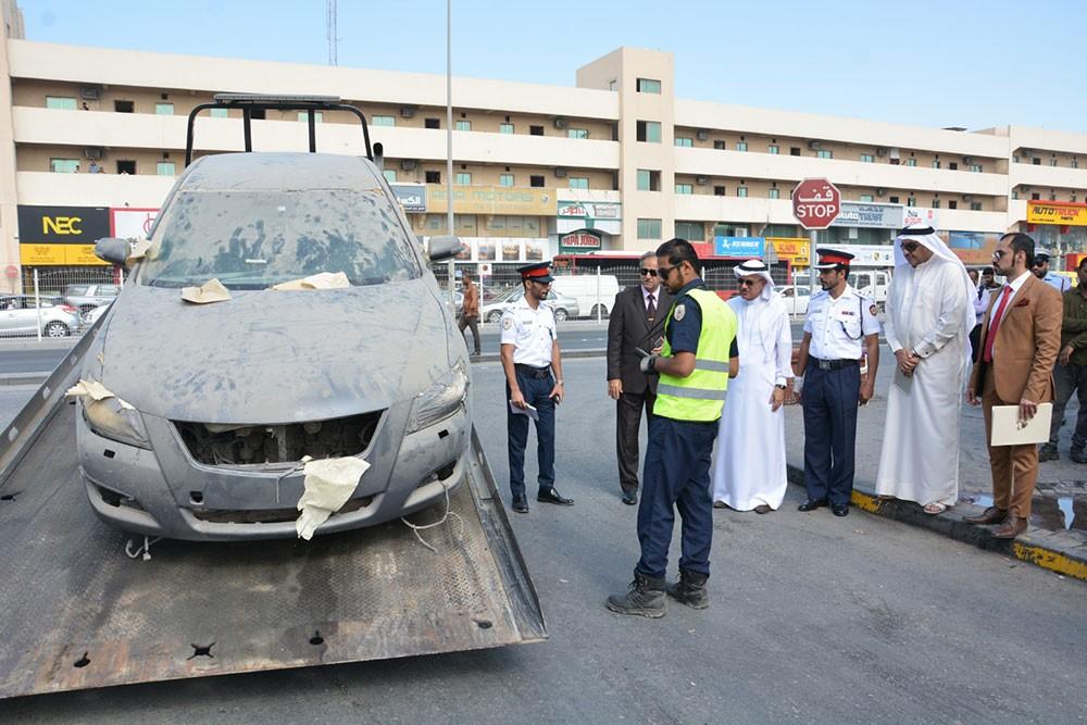 المحافظة الشمالية: اتخاذ الإجراءات القانونية ضد مخالفات ببعض الورش والمحلات التجارية