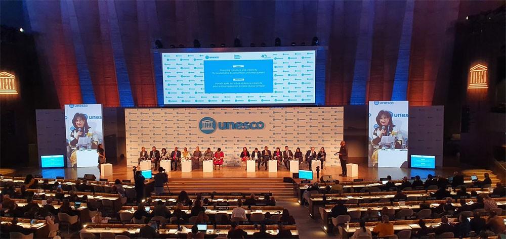 مي بنت محمد تشارك في منتدى وزراء الثقافة على هامش المؤتمر العام الأربعين لمنظمة اليونيسكو
