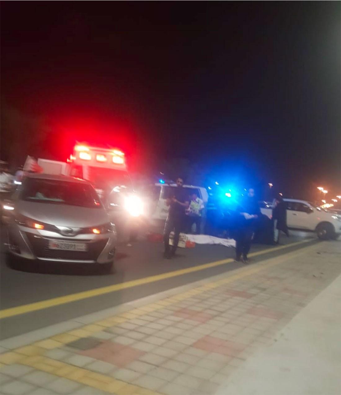 وفاة طفل بحريني بحادث مروري بليغ في مدينة سلمان