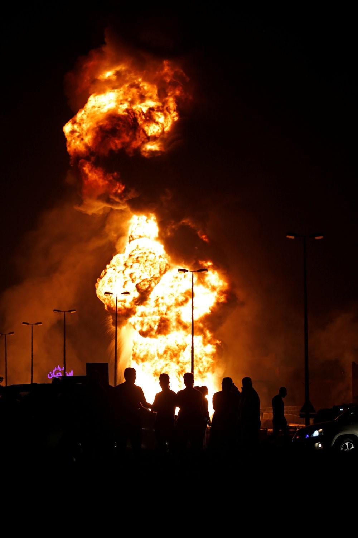 فعاليات: إدانة شعبية لحادثة تفجير أنبوب النفط