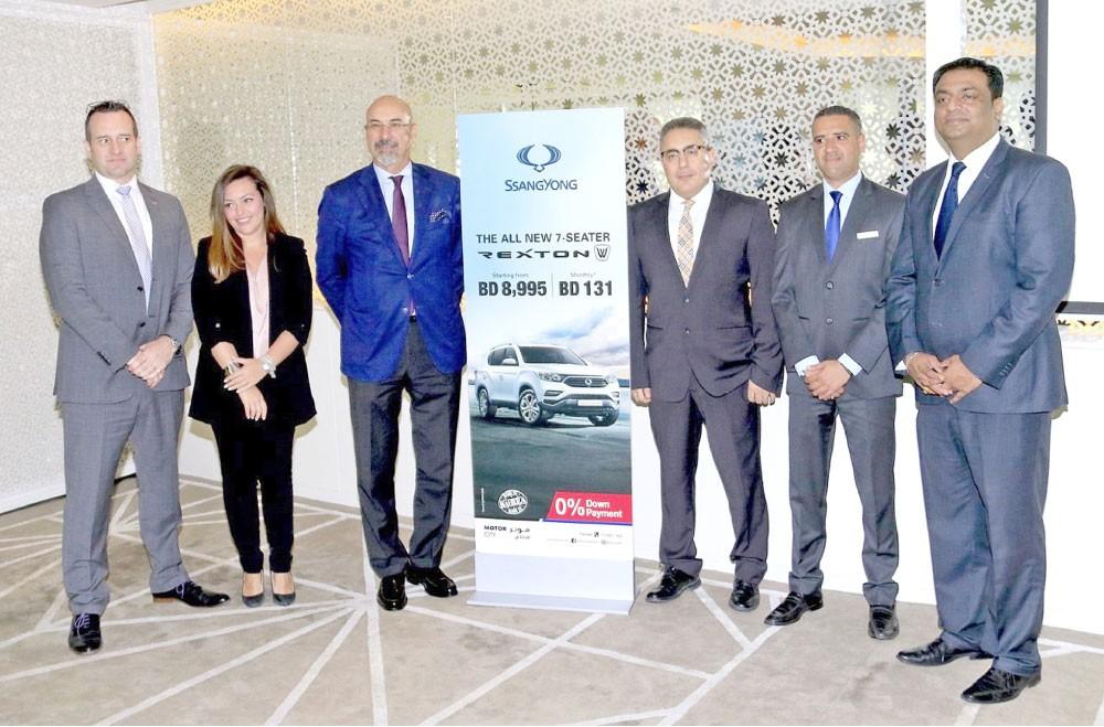 إطلاق سيارة Rexton الجديدة كليًا في البحرين