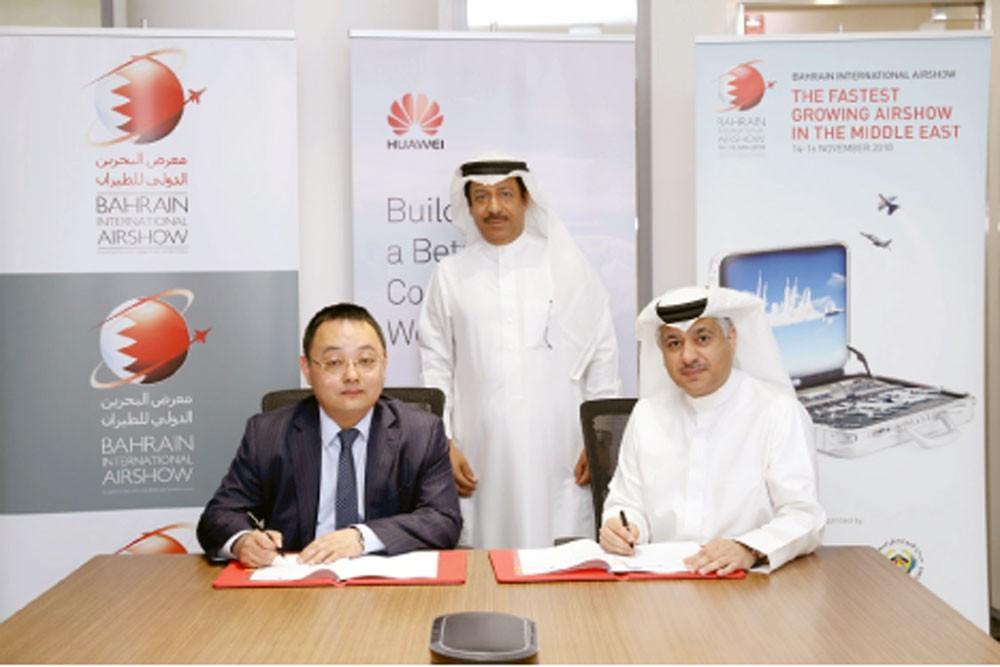 """""""هاواوي"""" تدعم معرض البحرين للطيران 2018"""