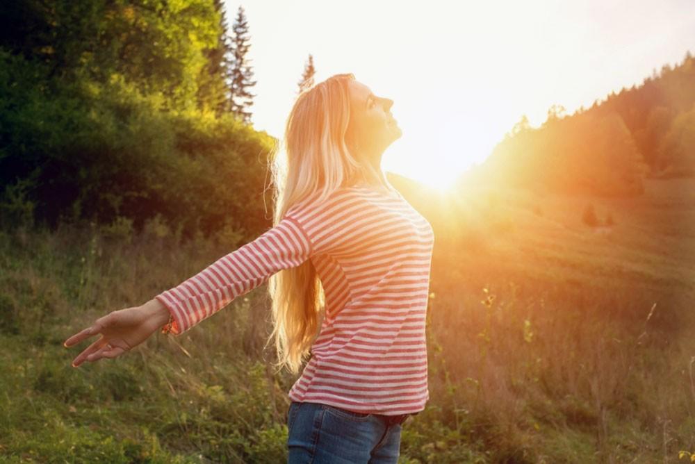 ضوء الشمس يخفض الوزن الزائد