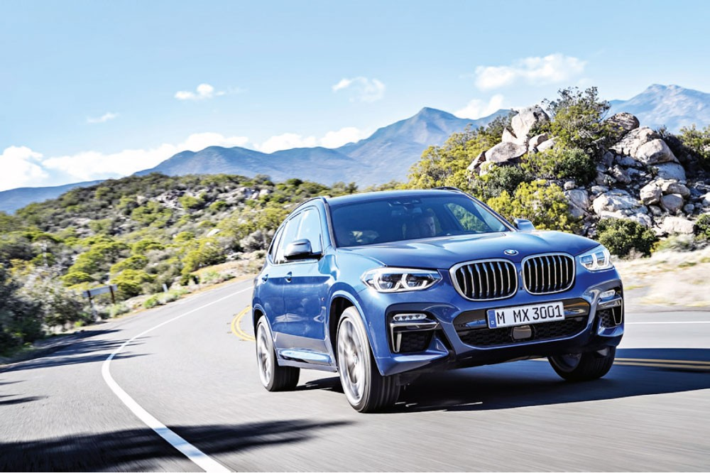 BMW  تطرح الجيل الجديد من سيارة BMW X3