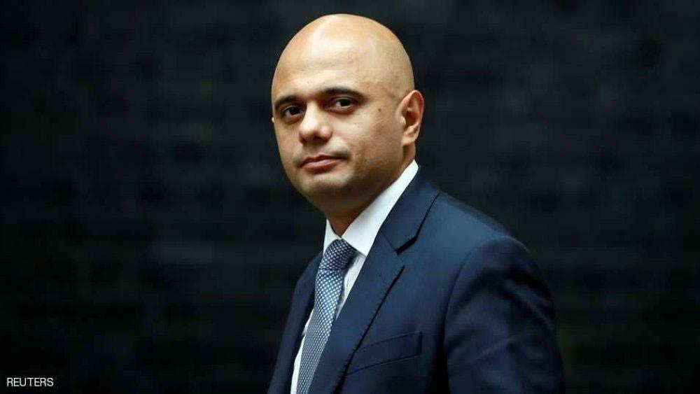 مسلم من أصل باكستاني وزير داخلية بريطانيا
