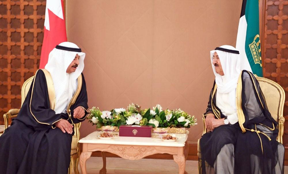 سمو أمير الكويت وسمو رئيس الوزراء: ضرورة الوصول إلى حلول لأزمات المنطقة بما يخدم المصالح المشتركة