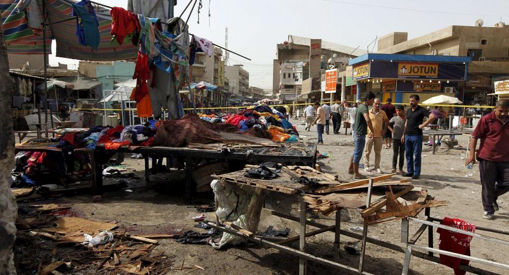 """قتلى بتفجير انتحاري لـ """"داعش"""" في بغداد"""