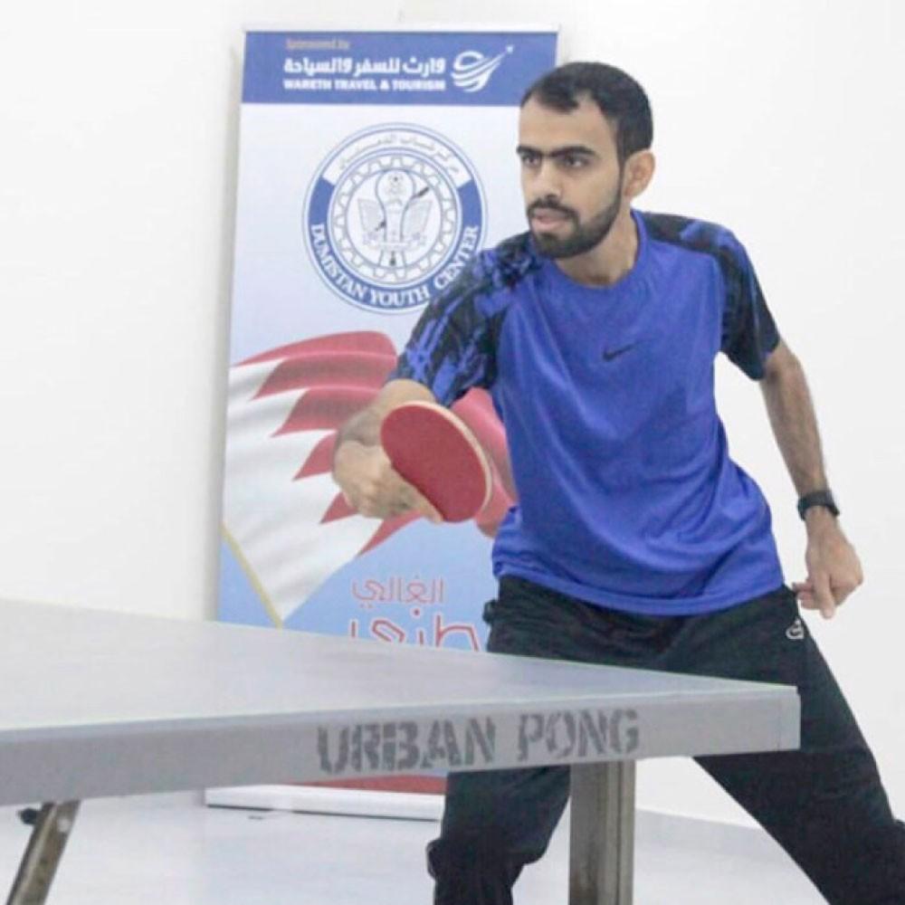 حسين يتوج بلقب دمستان لتنس الطاولة