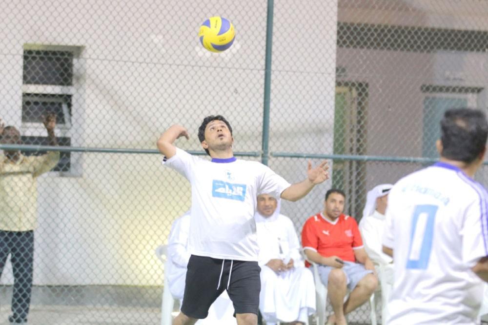 الأيام والرحاب في نهائي كرة الطائرة لشباب الهملة