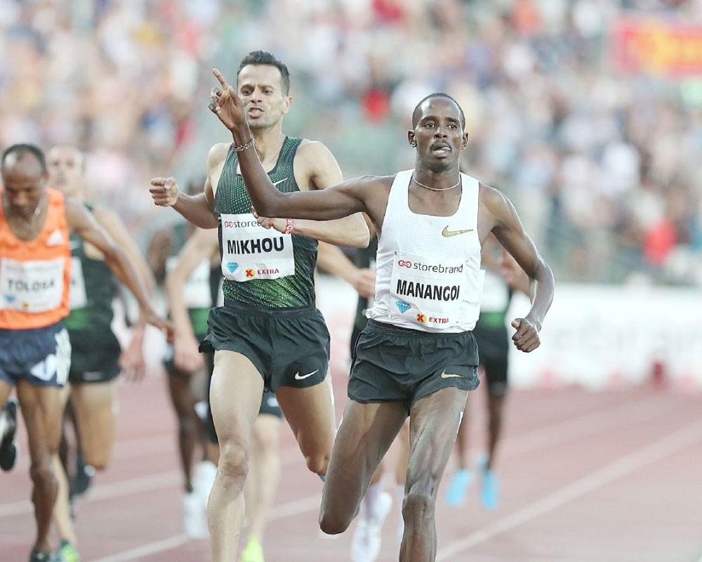 عيد تهيمن على سباق 400 متر بجولة أوسولو بالدوري الماسي