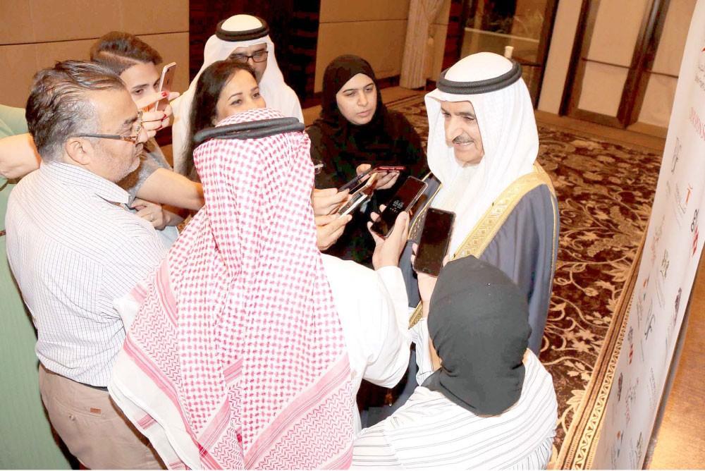 الشيخ سلمان بن عبدالله: نصف مليار دينار حجم التداول العقاري بالنصف الأول 2018