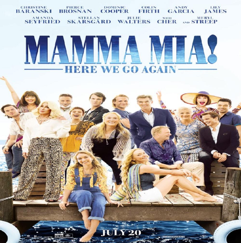 Mamma Mia Here We Go Again فيلم لا يعرف فرق العمر!