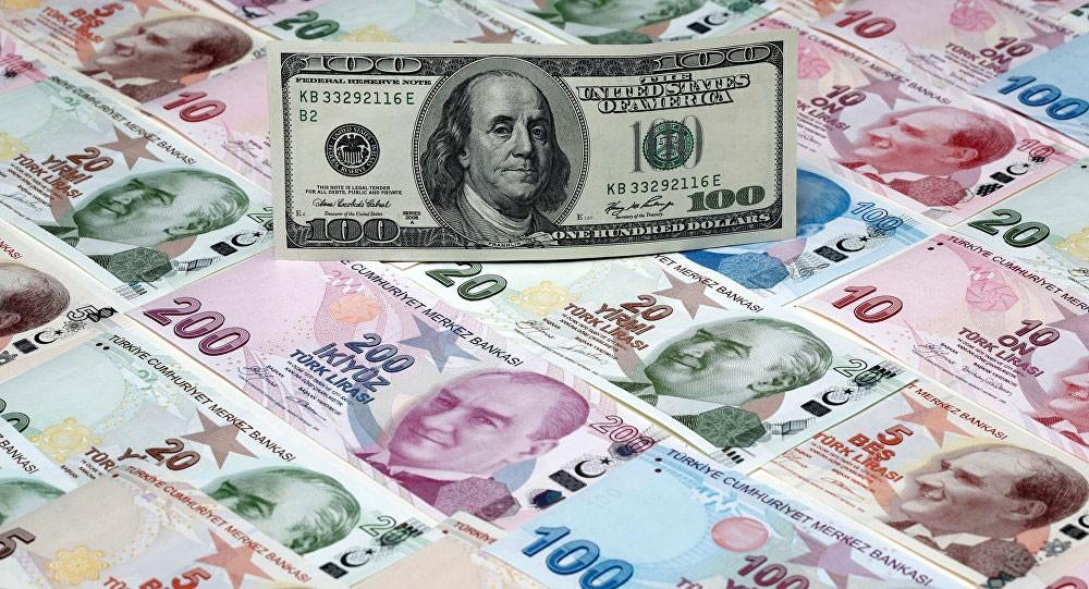 الليرة التركية تهبط 3 % أمام الدولار