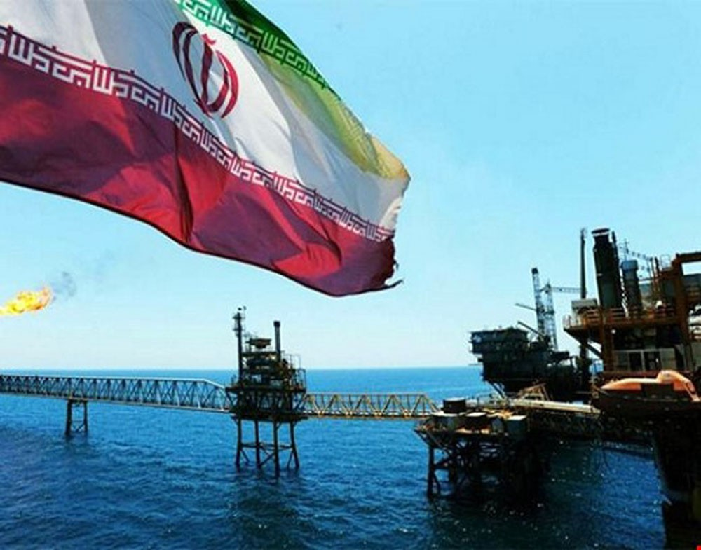 تراجع إنتاج النفط في إيران 150 ألف برميل يوميا