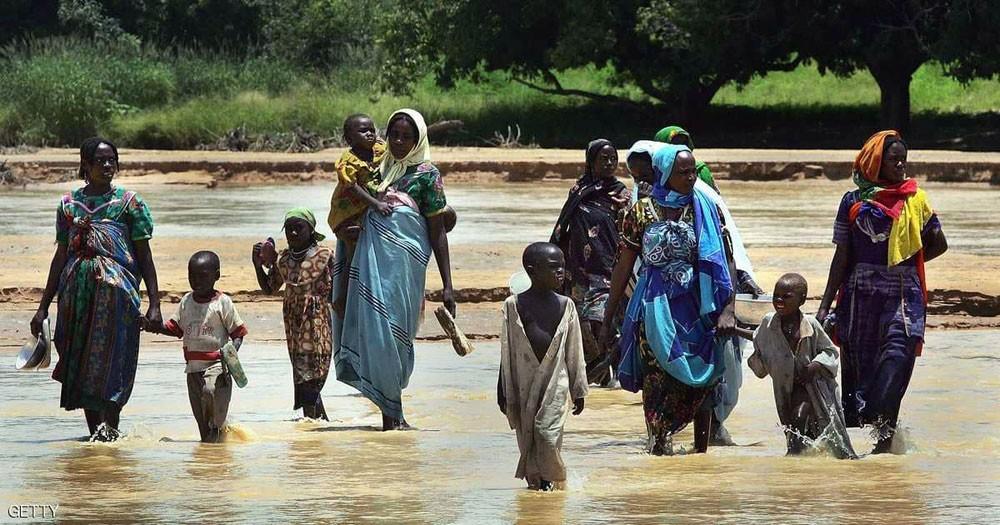 مقتل العشرات في انهيار تلّة في دارفور
