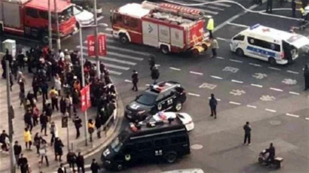 سيارة تصدم حشدا وتوقع 9 قتلى و46 جريحا