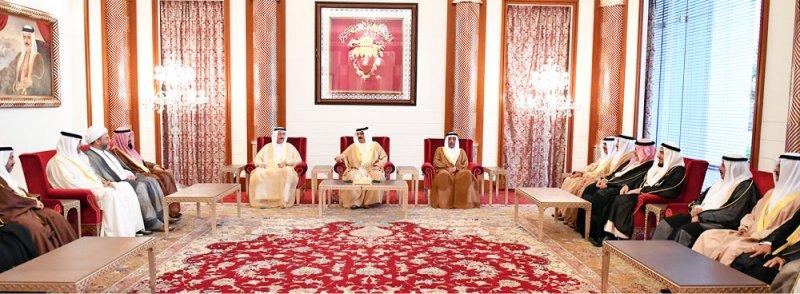 جلالة الملك: أهل البحرين الكرام يتمتعون بالوعي ونفتخر بهم جميعا