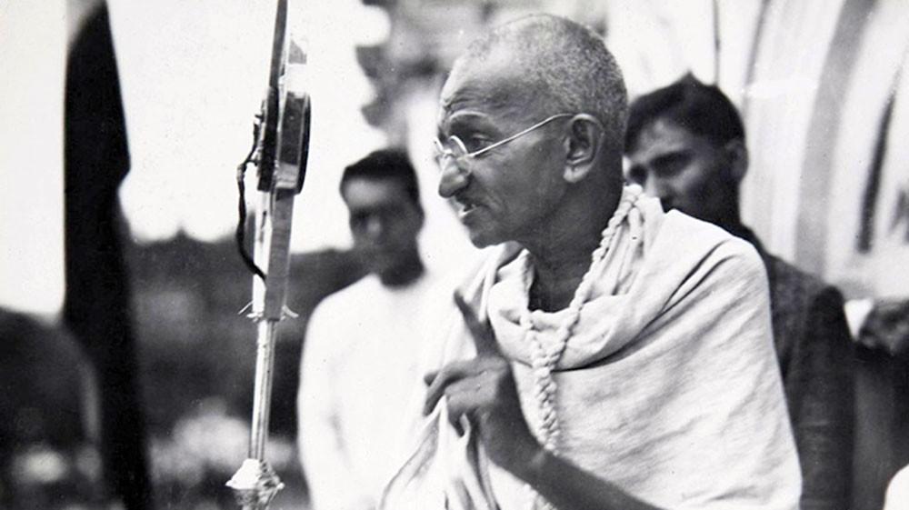 ذكرى عيد ميلاد غاندي يوم دولي للّاعنف