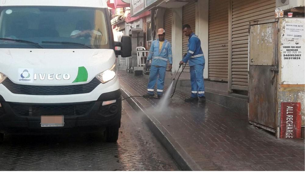 """حملة لتنظيف مرافق """"الرفاع المركزية"""""""