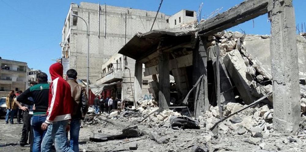 مقتل 7 مدنيين بقصف على إدلب