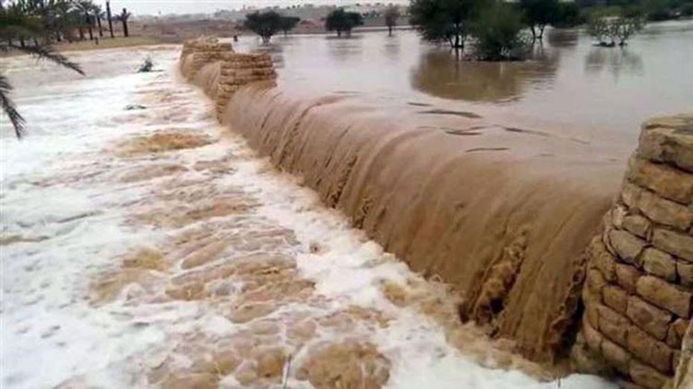 ضحايا جراء السيول الجارفة في الأردن