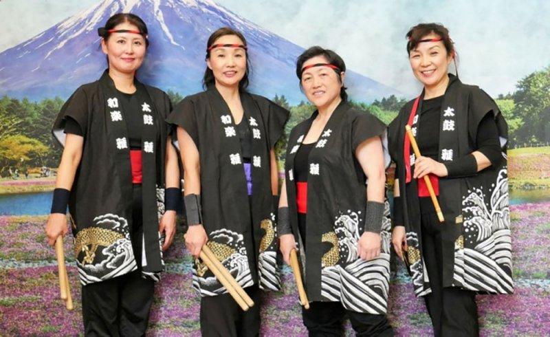 """""""الصالة الثقافية"""" تقدّم عروض الطبول اليابانية"""