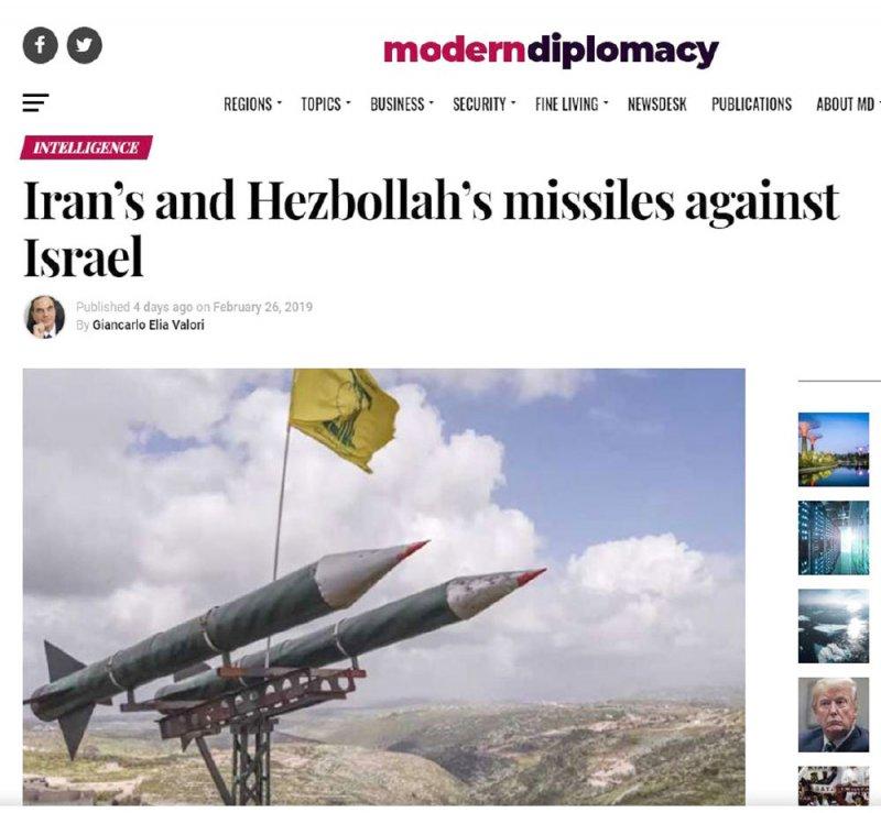 "إيران تطور صواريخ ""حزب الله"""