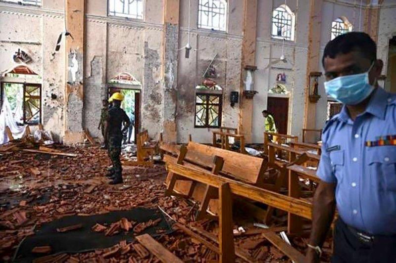 """""""داعش"""" يتبنّى اعتداءات سريلانكا"""