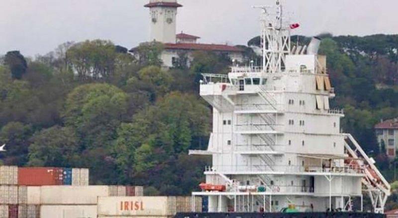 سفينة إيرانية محملة بالأسلحة ترسو بمصراتة