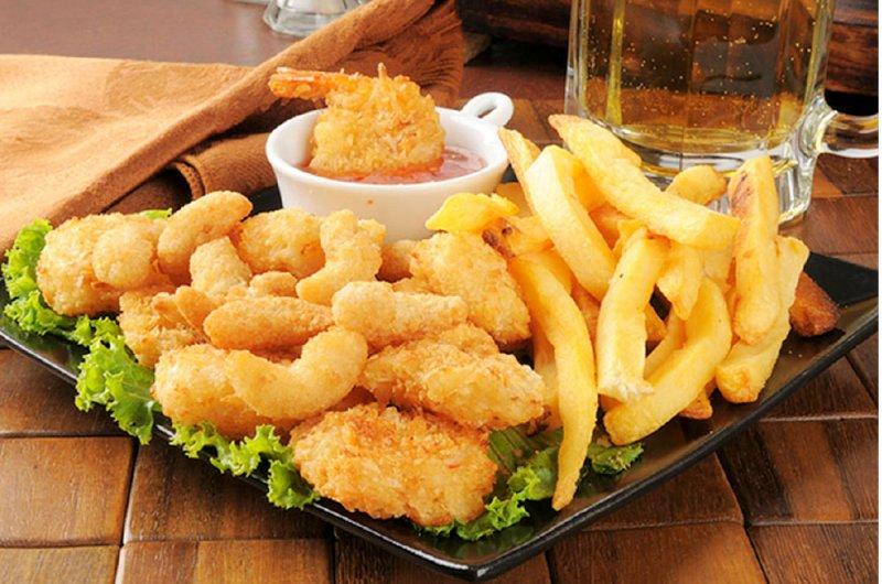 خطر الأطعمة المقلية على القلب