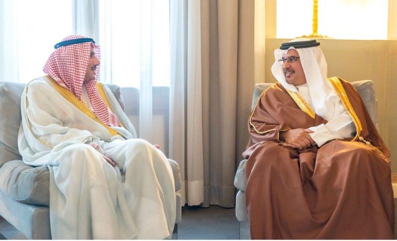 سمو ولي العهد: نقدر مواقف الكويت المشرفة في مساندة للبحرين