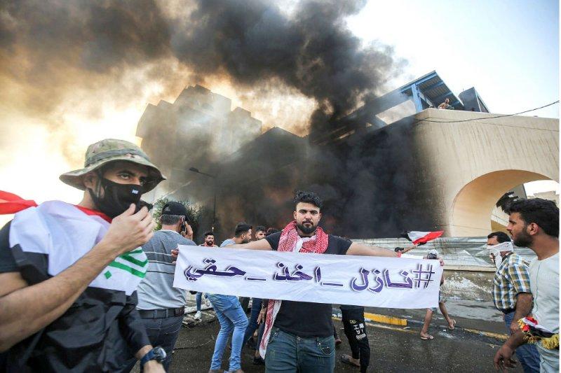 7 قتلى و294 مصابا حصيلة تظاهرات العراق