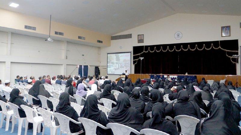 """محاضرة حول السلامة بمواصلات """"الرياض"""""""