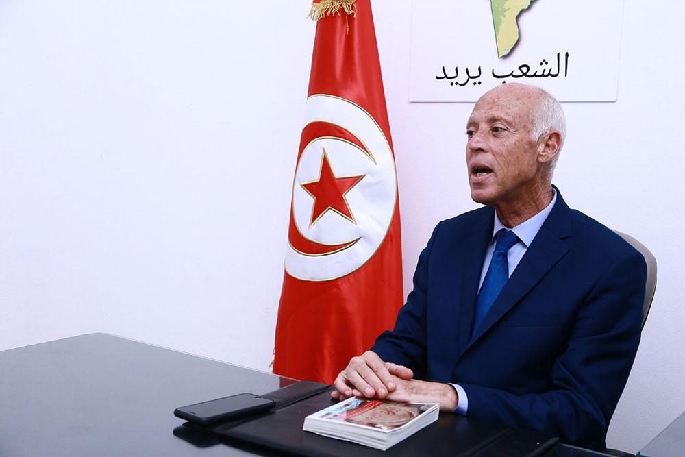 التلفزيون الرسمي: قيس سعيّد رئيسا لتونس